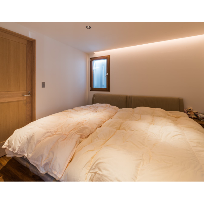 木製サッシ イタリカ 片開き腰窓 左吊元 ウォールナット