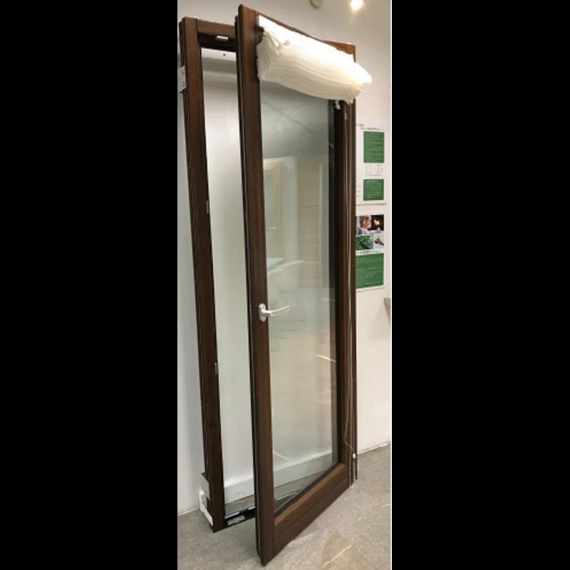 木製サッシ イタリカ 片開き掃出し窓 右吊元 ダークウォールナット